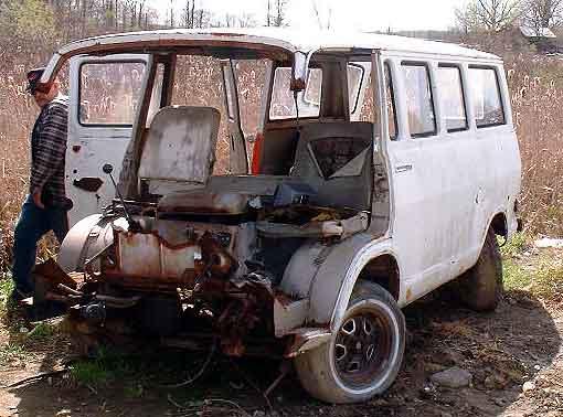67 chevy van parts
